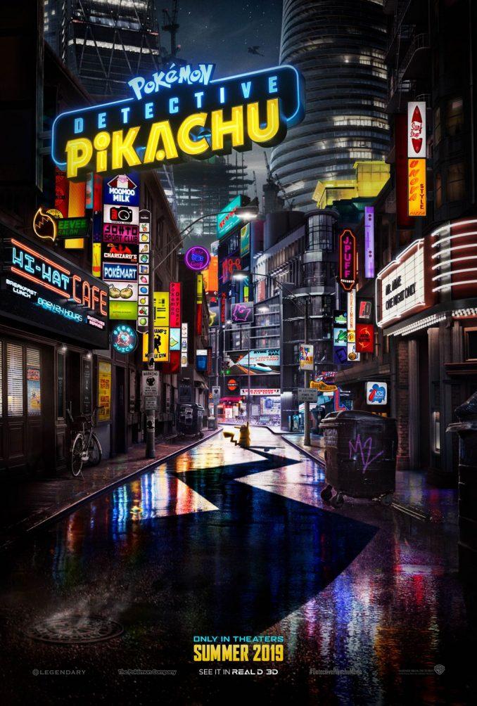 first live action pokemon movie pokemon detective pikachu poster hd ryan reynolds