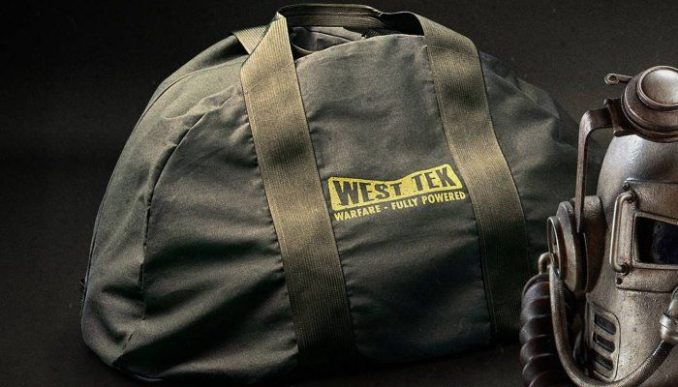 bethesda fallout 76 power armor edition nylon duffel bag replacement canvas bag submit ticket