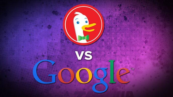 duckduckgo vs google search engine privacy personalization battle nsa tracking
