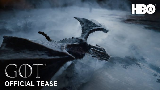 watch game of thrones season 8 teaser youtube official teaser gots8 winter dragon ice dragonstone